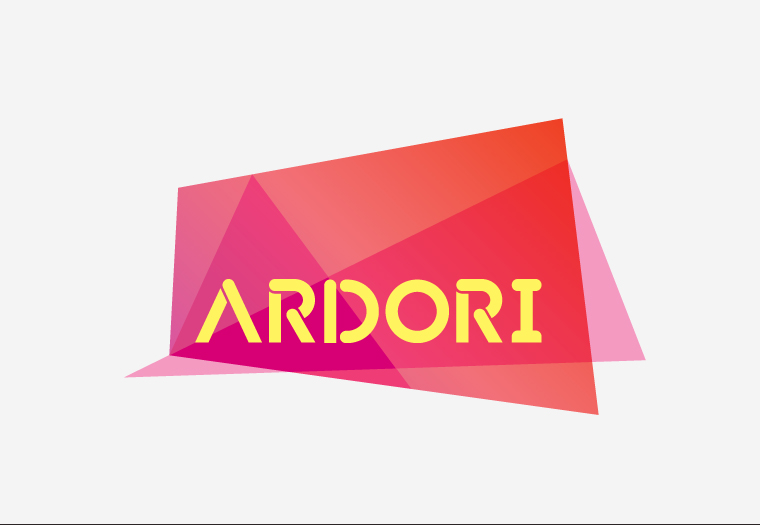 Logo identity design for Ardori, as part of a wider branding project for the creative media agency.