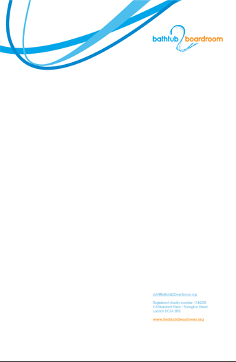 The fluidity of the logo shapes expressed on the corporate letterhead
