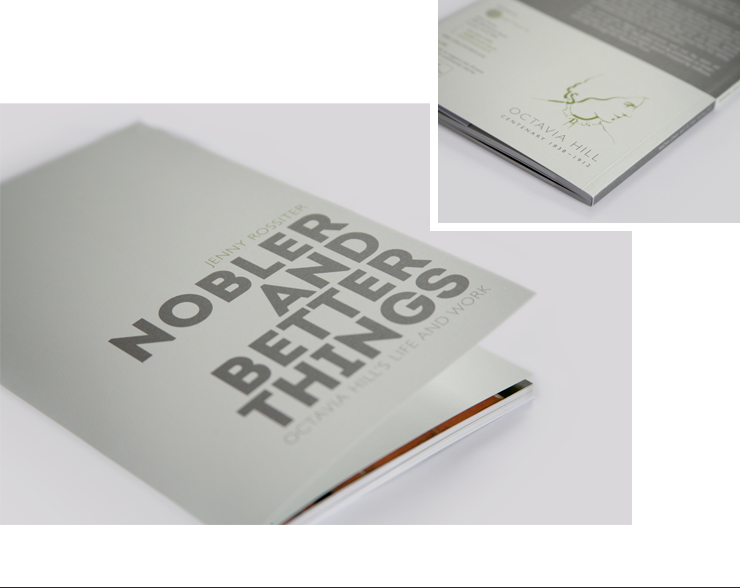 Nobler and Better Things Book Design