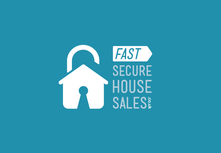 Fast Secure House Sales.co.uk logo design