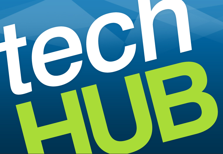 Techhub logo design.