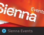 Sienna Events Branding